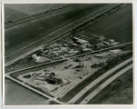 Aerial over Ready Mix plant, Williston, N.D.