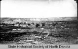 View of Medora, Dakota Territory