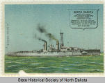 View of the U.S.S. North Dakota