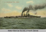 View of the U.S.S. Dreadnaught North Dakota
