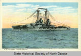 View of the U.S.S. Battleship North Dakota