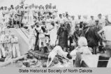 Equator crossing ceremonies aboard the U.S.S. North Dakota