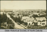 Bird's eye view, Minot, N.D.