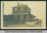 Northern Pacific Depot, Esmond, N.D.