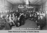 Reception for Theodore Roosevelt, Medora, N.D.