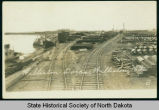 Williston docks, Williston, N.D.