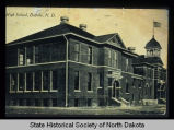 1916 Buffalo High School, historical view, Buffalo, N.D.