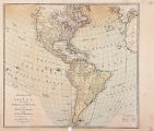 General map of America divided into North and South and West Indies with the newest discoveries