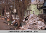 Remnants of flood damage, Grand Forks, N.D.