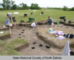 House 17 excavation at Menoken Indian Village site