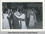 Dancing couples, Fort Berthold Indian Reservation, N.D.