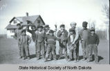 Mission school boys, Fort Berthold Indian Reservation, N.D.