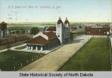 Northern Pacific Depot and Main Avenue, Bismarck, N.D.