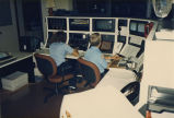 Employees at state radio command control center, Bismarck, N.D.