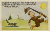 World War II postcard sent by Bernard Stasney