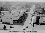 Looking west on Main Avenue, Bismarck, N.D.