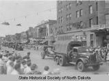 National Guard parade on Main Avenue, Bismarck, N.D.
