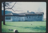 Carriage house and stable exterior view, Adams-Fairview Bonanza Farm, Wahpeton, N.D. vicinity