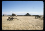 Barn and farm implements, Bagg Bonanza Farm District, Mooreton, N.D. vicinity