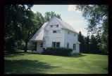 Manager's House contemporary exterior view, Grandin's Mayville Farm District, Mayville, N.D....