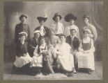 Cast of Valley City Normal School play