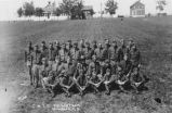 Group portrait, Civilian Military Training Camp, Fort Lincoln, Bismarck, N.D.