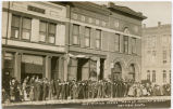 Crowd on Main Street, Mandan, N.D.