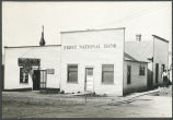 First National Bank building, Mott, N.D.
