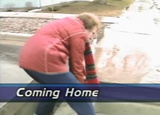 News video on residents in the Breckenridge, Minn.-Wahpeton, N.D. area returning to their homes...