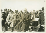 Dignitaries at North Dakota Capitol cornerstone laying ceremony, Bismarck, N.D.