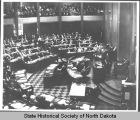 North Dakota House of Representatives in session, Bismarck, N.D.