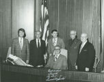 Reunion of six North Dakota Lieutenant Governors, Bismarck, N.D.
