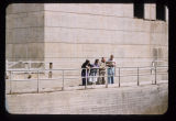 Men and women at spillway, Garrison Dam