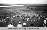 60th anniversary of Custer Expedition to Little Big Horn, Fort Abraham Lincoln, N.D.