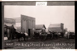 West side, Main Street Powers Lake, N.D.