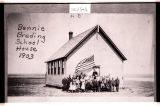 Bennie Breding School House #2, 2 miles south of Powers Lake, N.D.