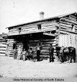 Trading post, Fort Berthold, N.D.