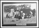 Women picnicking near Mercer, N.D.