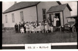 Lutheran Sunday School at school house, Mercer, N.D.
