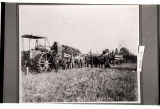 Early days threshing near Binford, N.D.