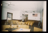 Courtroom interior view, Kidder County Courthouse, Steele, N.D.