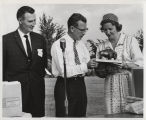 Presentation of The Order of the Buffalo Hunt to William L. Guy and Jean Guy by Premier Duff...