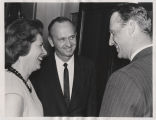 Congressman Rolland Redlin with Governor William Guy and Mrs. Jean Guy