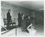 Dedication ceremony unveiling North Dakota Hall of Fame, Bismarck, N.D.