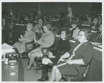 Mrs. William Guy Sr., Jean Guy and Mrs. Richard Larsen at joint session of 42nd Legislative Assembly,