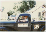 Bruce Hagen campaigning in parade, Minot, N.D.