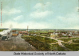 View of Williston, N.D.