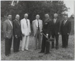 Groundbreaking for auditorium, International Music Camp, International Peace Garden
