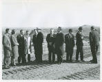 Dignitaries at Interstate 94 dedication