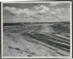 Western embankment, Garrison Dam construction site